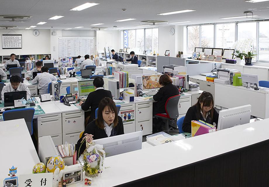 オフィス風景